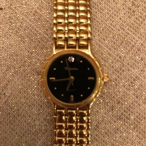 VALENTINO Gold Tone Watch